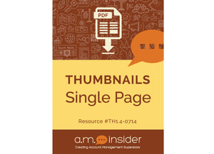 Thumbnails Single Page (FREE RESOURCE)