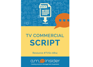 TV Commercial Script