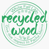 White Fall Lab Recycled Wood
