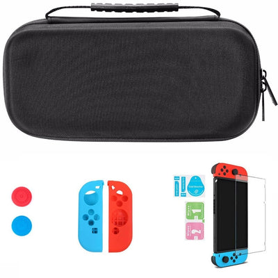 Storage Bag for Nintend Switch Nintendos Switch Console Handheld Carrying Case 19 Game Card Holders Pouch For Nintendoswitch