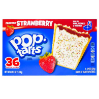 Kellog's Pop-Tarts Strawberry Toaster Pasties 36pcs