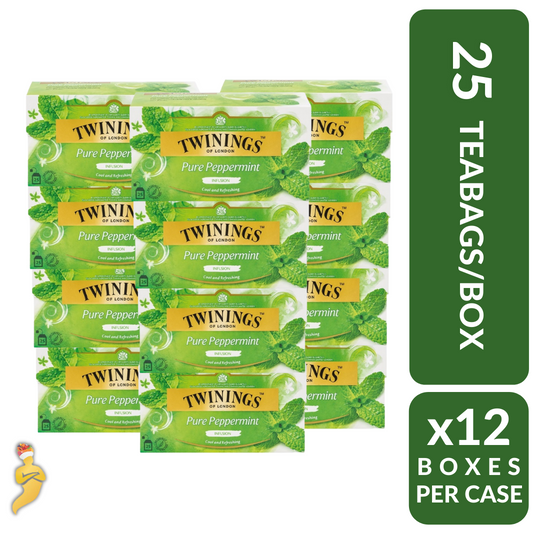 Twinings Pure Peppermint 25s x 12