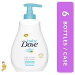 Baby Dove Hair-To-Toe Wash Rich Moisture 400ML x 6