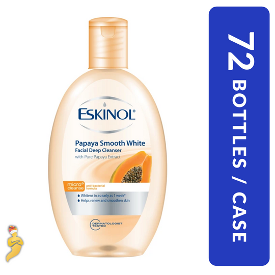 ESKINOL Deep Cleanser Papaya Smooth White 135ml x 72