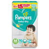 Pampers baby-dry Medium (Taped) 70's