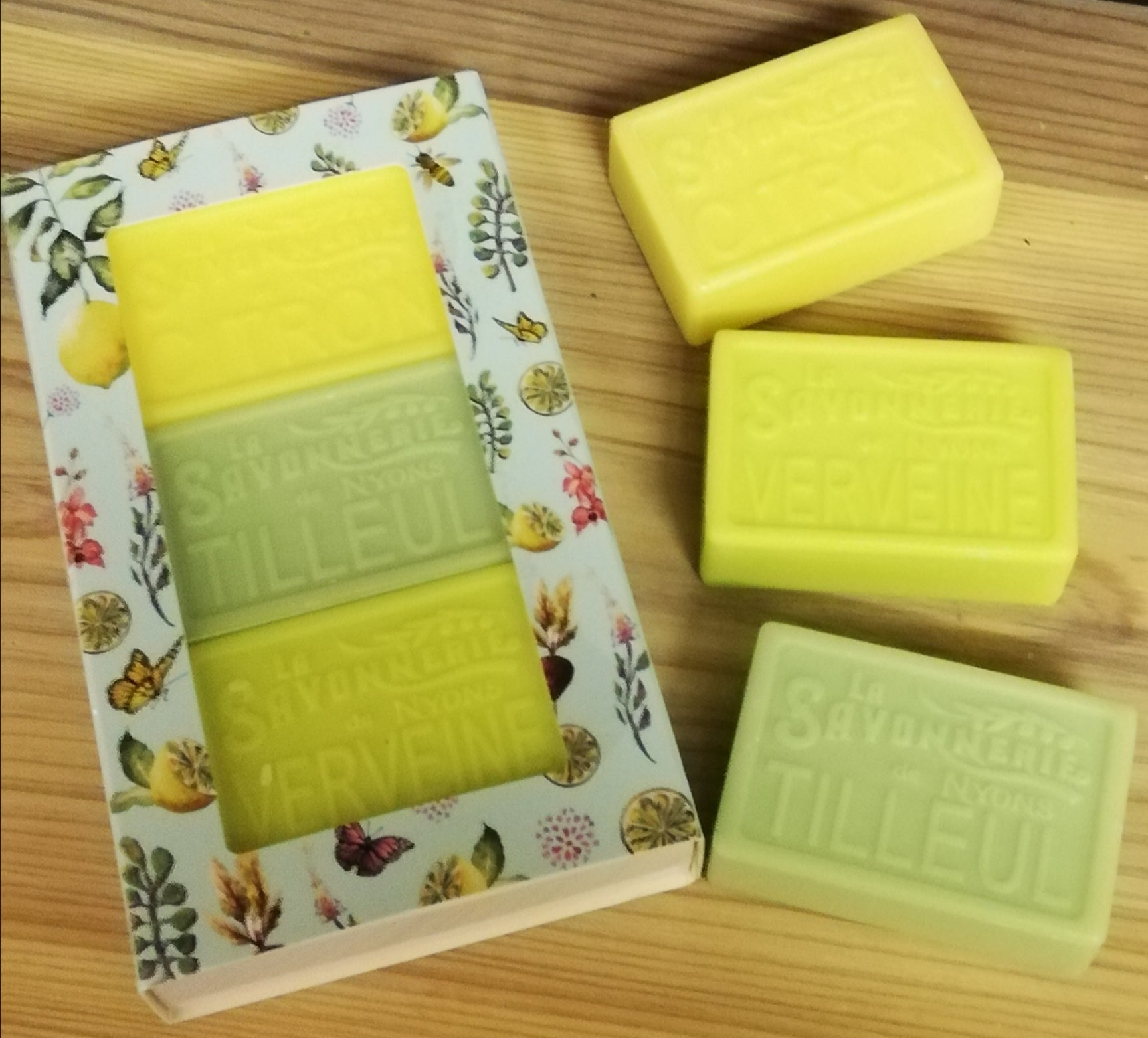 Gift Box of 3 Olive Oil Soaps