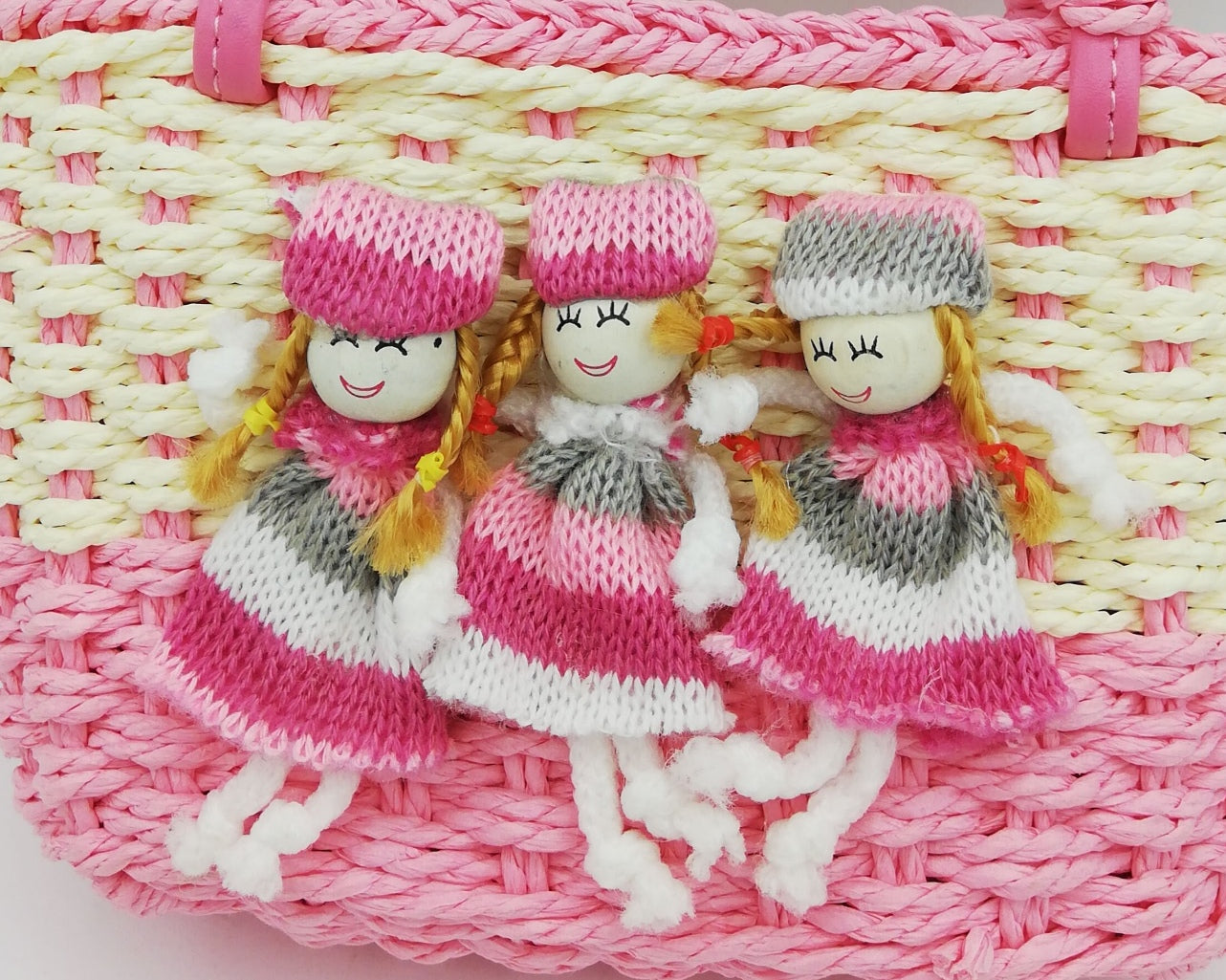 Girl Basket with Dollies