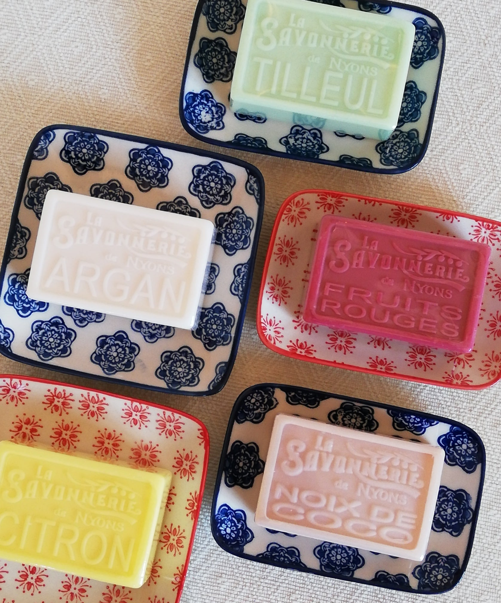 Olive Oil Soaps from Provence