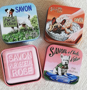 Olive Oil Soap in Gift Tin - Dogs