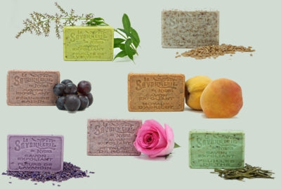 Exfoliating/Gardening Soaps with Olive Oil