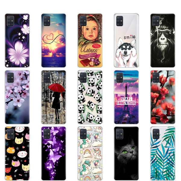 Silicon Phone Case For Samsung Galaxy