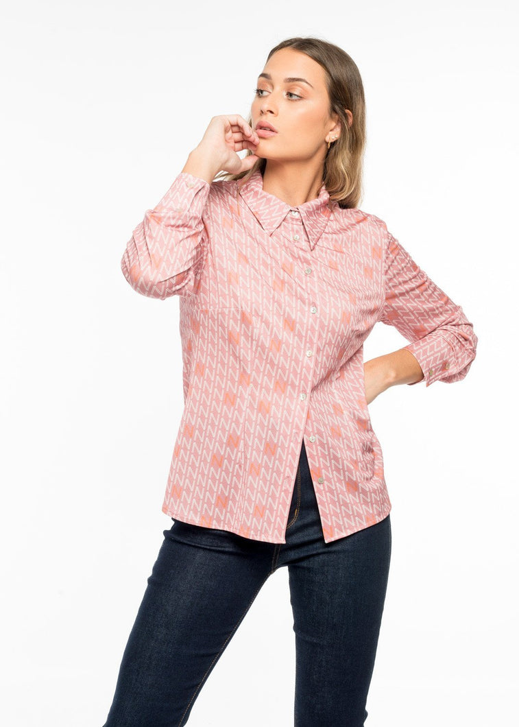 POINT GEOMETRIC SHIRT by royalbee.uk