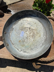French vintage frying pan