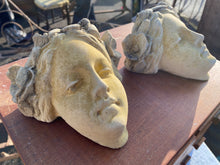 Load image into Gallery viewer, French stoneware decorative heads