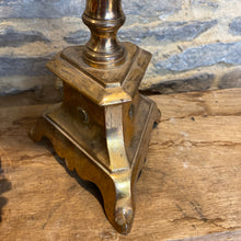 Load image into Gallery viewer, French vintage brass Pricket candlestick holder