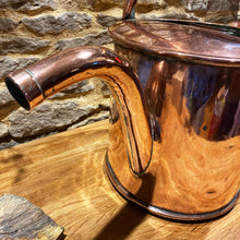 Load image into Gallery viewer, Beautiful large vintage copper watering can