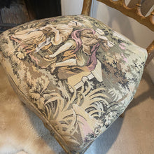 Load image into Gallery viewer, French bedroom gilt chair embroidered seat