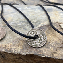 Load image into Gallery viewer, WWII French coins made into necklaces
