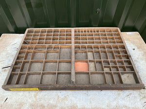 French Printers tray