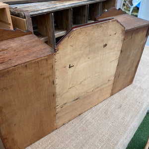 French Art Deco style small cabinet with mirror