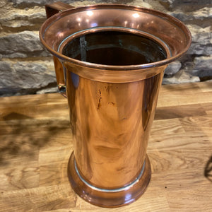 Beautiful French copper Tankard