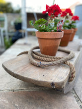Load image into Gallery viewer, Vintage wooden sled