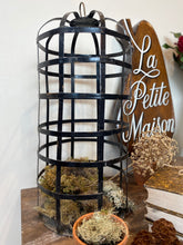 Load image into Gallery viewer, Metal decorative birdcage