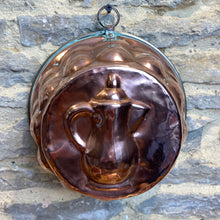 Load image into Gallery viewer, French vintage copper jelly mould