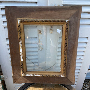 Beautiful Old french frame with glass