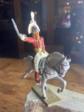 Load image into Gallery viewer, French Starlux lead horse and rider figurine