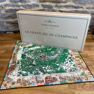 French Moët Chandon board game
