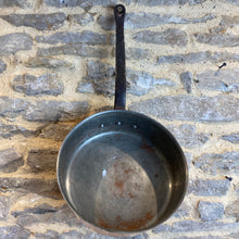 Load image into Gallery viewer, French vintage heavy gauge copper tin lined sauté pan