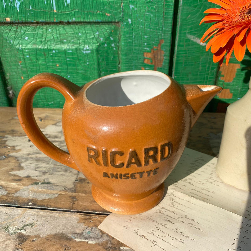 French Ricard water jug