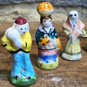 French porcelain Feves bundle of 30