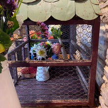 Load image into Gallery viewer, French birdcage with handmade zinc tiles