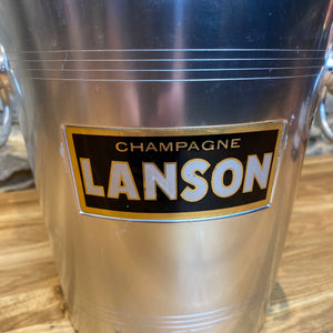 French Lanson champagne Cooler