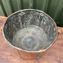 Load image into Gallery viewer, Very rare French double handled military copper measuring pot circa 1800