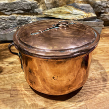 Load image into Gallery viewer, French copper pot with lid