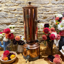 Load image into Gallery viewer, French antique copper coffee urn