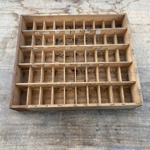 French Printers tray/drawer