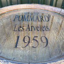 Load image into Gallery viewer, Commissioned one off Wine barrel top glass table