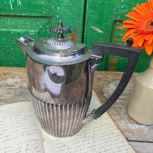 Silver plate marked Coffee pot