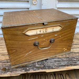 French tin boxes
