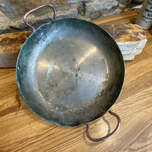 Load image into Gallery viewer, French stamped double handle cassolette copper pan