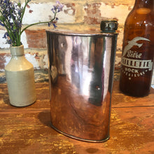 Load image into Gallery viewer, Copper water bottle working top