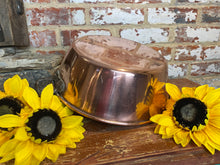Load image into Gallery viewer, French vintage copper jam pan