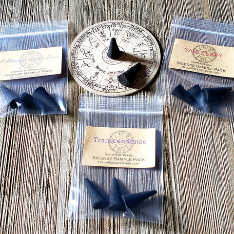 Try Me Cone Sampler Set - Try All 12 Symbolry Incense Blends for 1 Low Price & FREE SHIPPING!