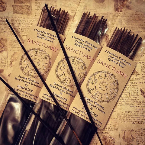 Sanctuary - A custom incense blend by Symbolry