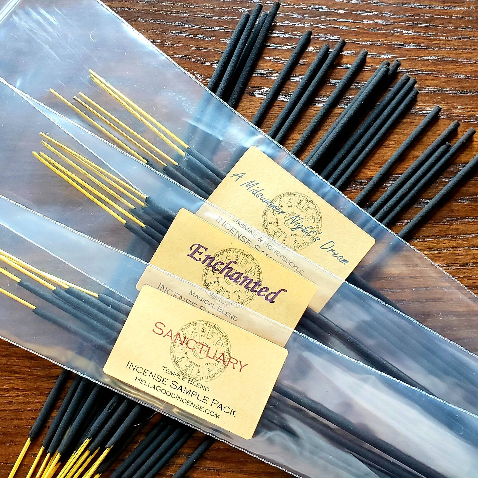 Try Me Sampler Set - Try All 12 Symbolry Incense Blends for 1 Low Price & FREE SHIPPING!