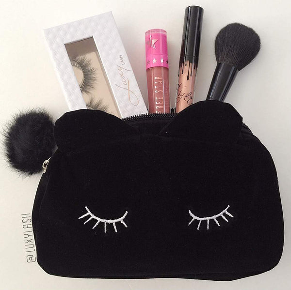 Meow Makeup Bag - Luxy Lash - 3